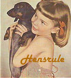 Dachsie and girl