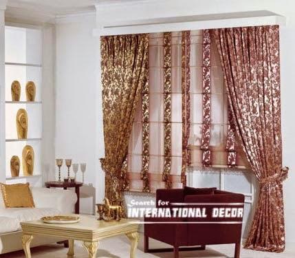 curtain designs, unique curtains,bright curtains, window decorations