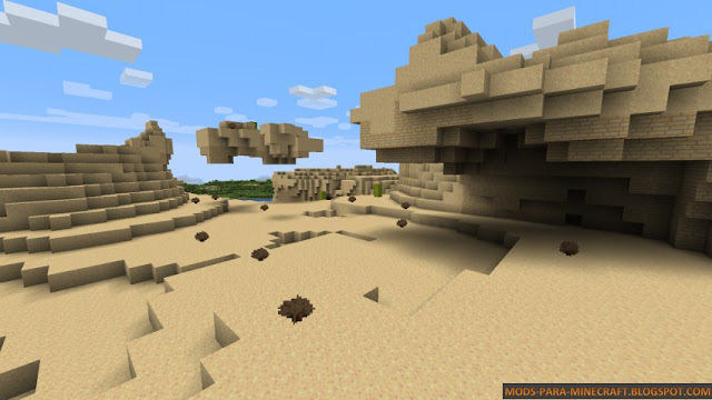 Desierto con el Prime Resource Pack 1.8