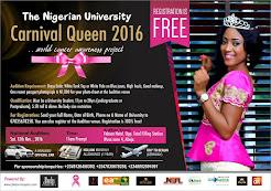 Nigerian University Carnival Queen 2016