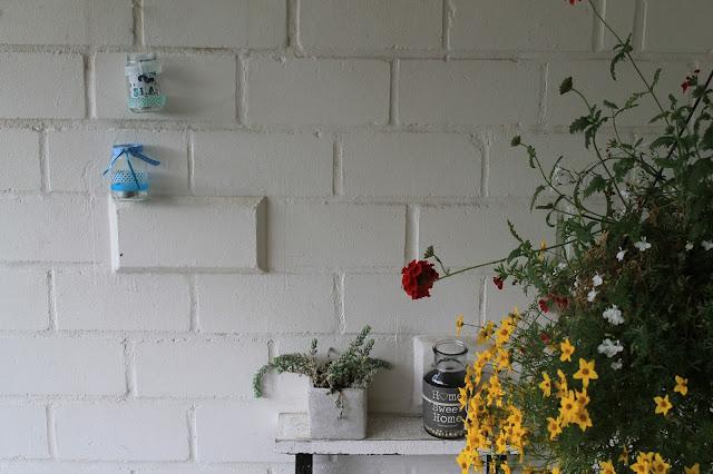 DIY Teelicht  Windlicht Garten