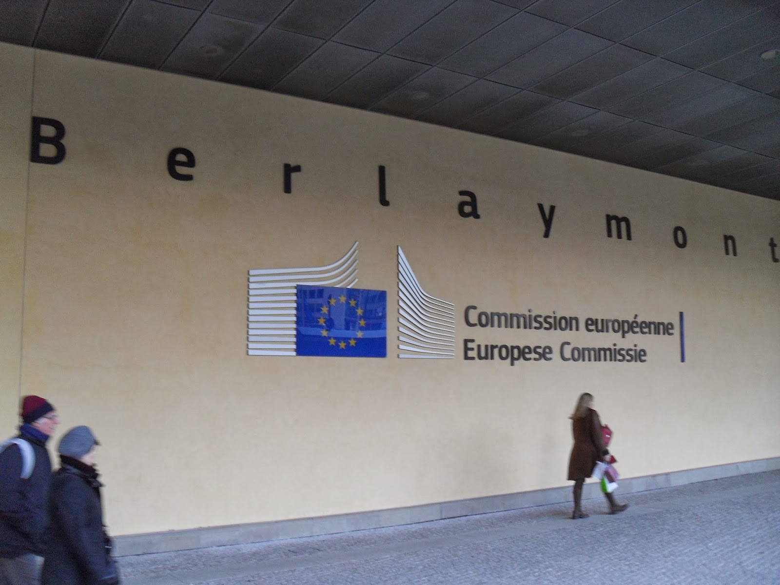 Edificio Berlaymont, sede de la Comisión Europea