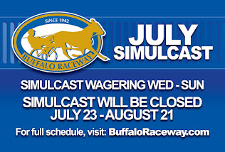 July Simulcast Schedule