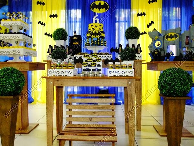 decoração batman porto alegre
