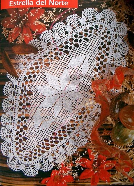 Carpeta tejida con ganchillo con patrones y explicación en español