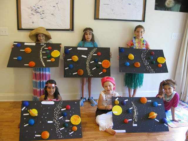 Solagratiamom year 2 week 9 solar systems caribbean for Solar project for kids