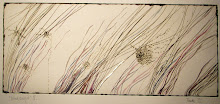 Windswept II, 2011, Mixed media mono print by TUNDE TOTH