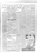 """26 OTTOBRE 1932 """"LA VOCE DI BERGAMO"""""""