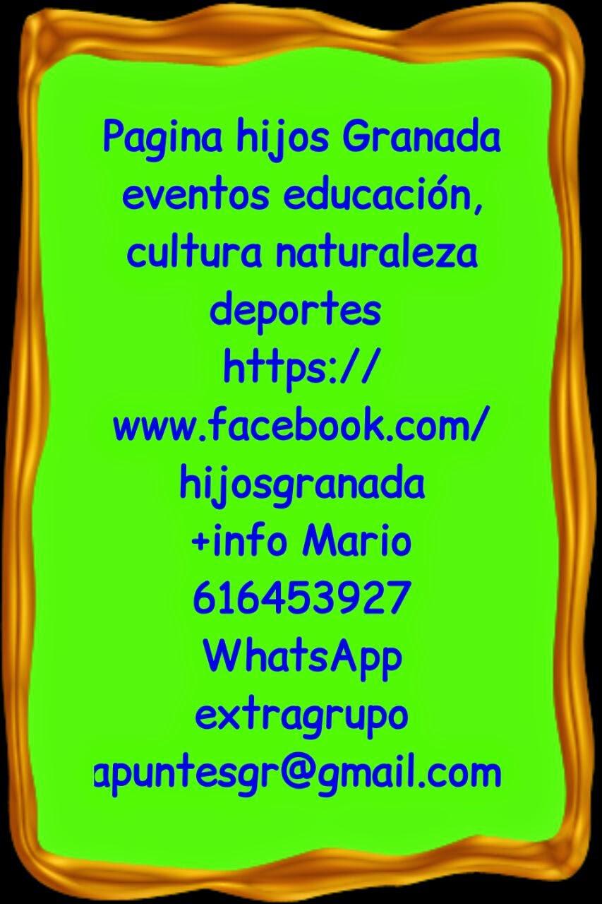 Agenda granada haz clic en pagina hijos granada - Paginas amarillas de granada ...