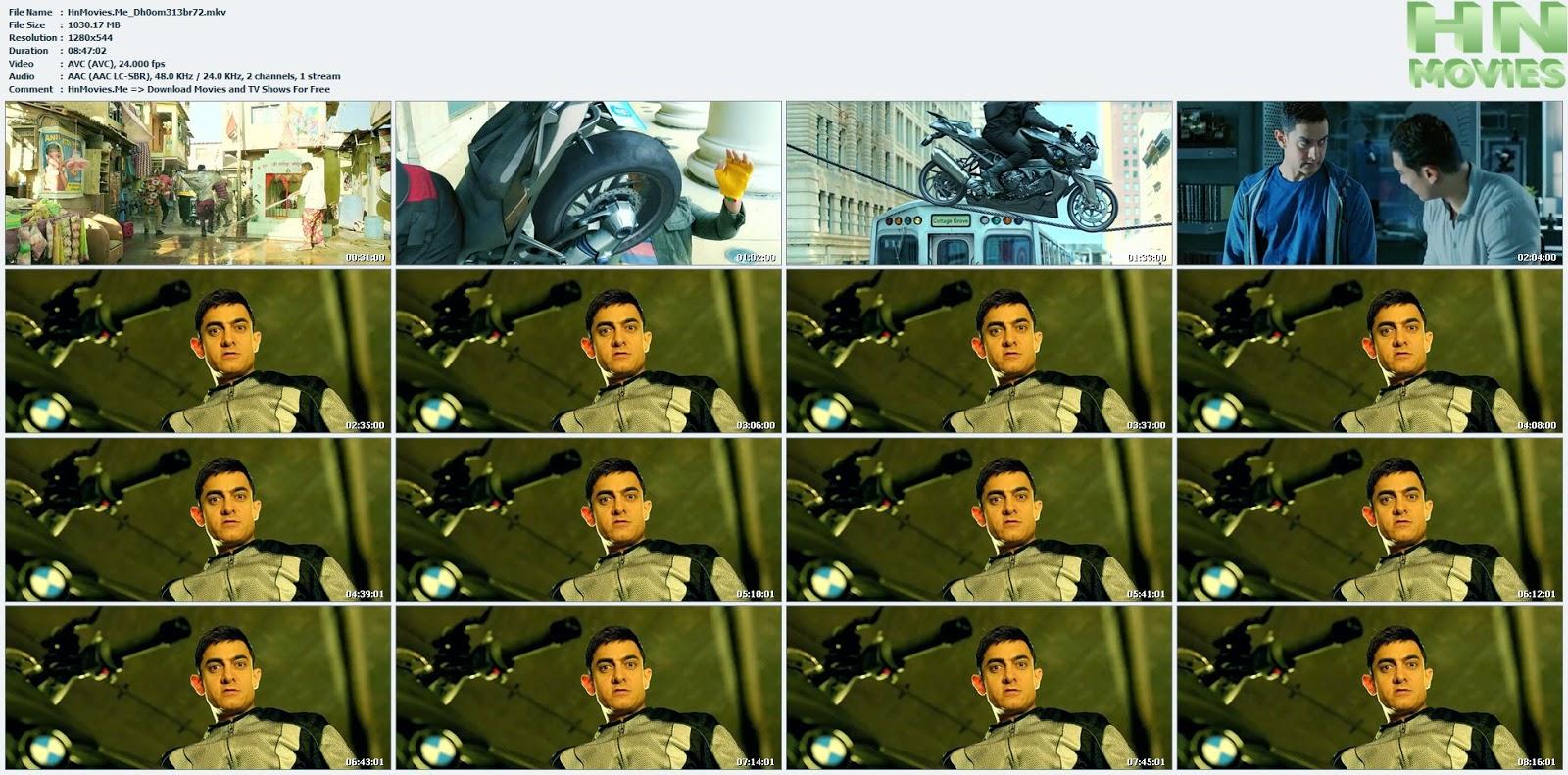 movie screenshot of Dhoom: 3  fdmovie.com