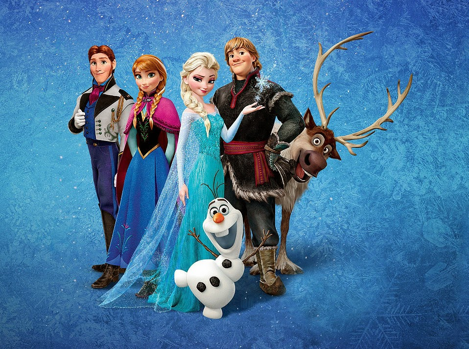 wallpaper film frozen disney