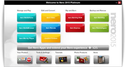 Nero 2015 Platinum v16.0.02900 + ContentPack