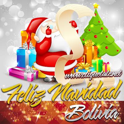Feliz Navidad Bolivia - Imágenes para etiquetar y Compartir