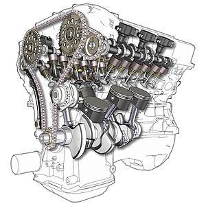 MOTOR V6 DOHC 24V
