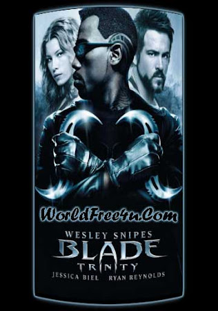 Poster Of Blade: Trinity 2004 In Hindi Bluray 720P Free Download