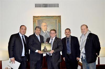Embaixador da Palestina no Brasil visita a Assembléia Legislativa