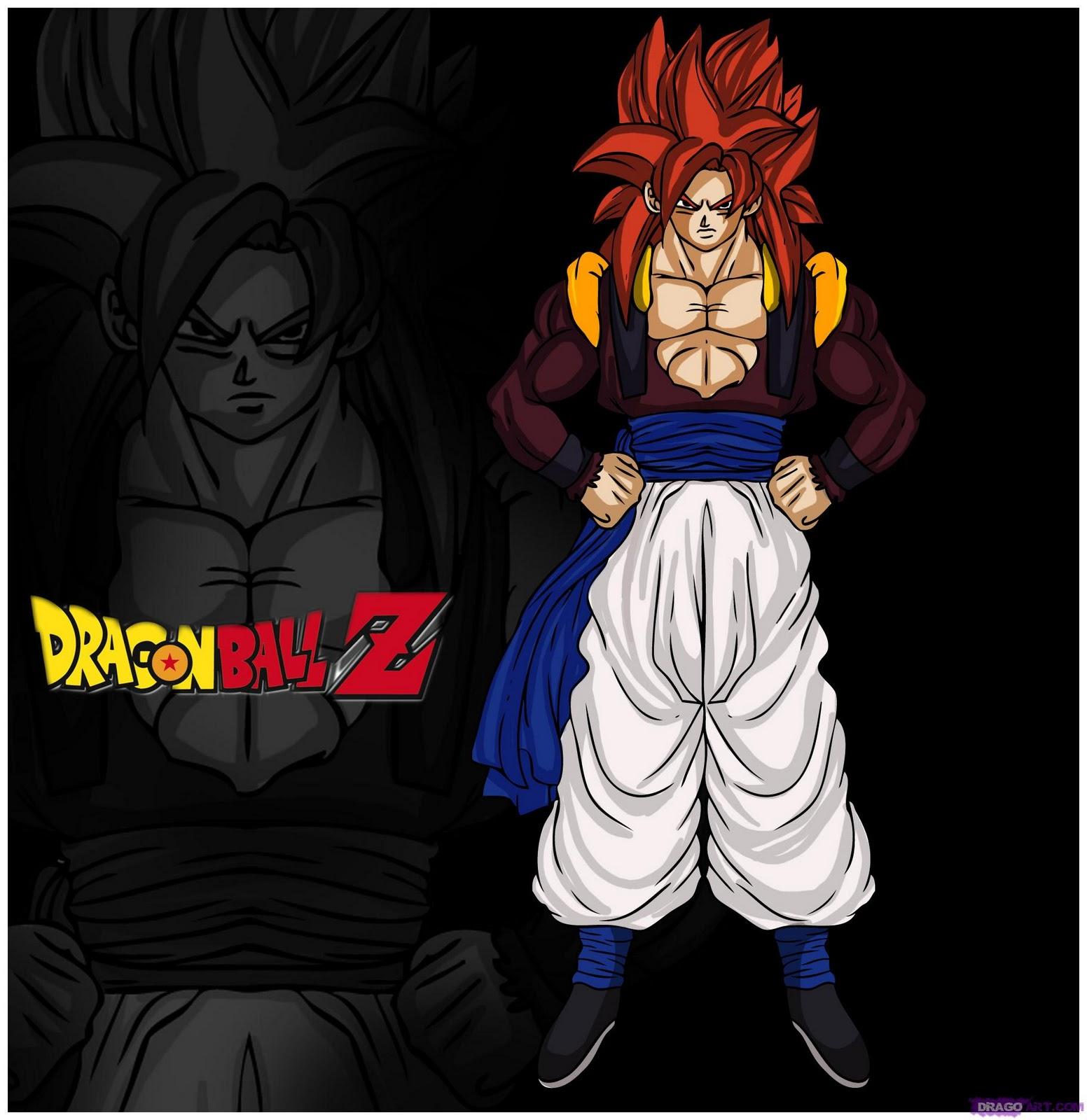 Dragon ball z super saiyan 4 - Dragon ball z 4 ...