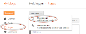 Blogger Sitemap Content Widgets
