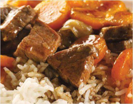Boeuf au riz