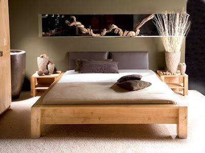 dormitorio estilo étnico