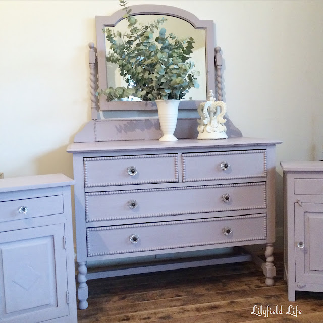 ASCP Paloma vintage dressing table and bedside tables Lilyfield Life