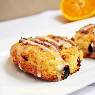 The Harried Cook: Dried Blueberry Scones