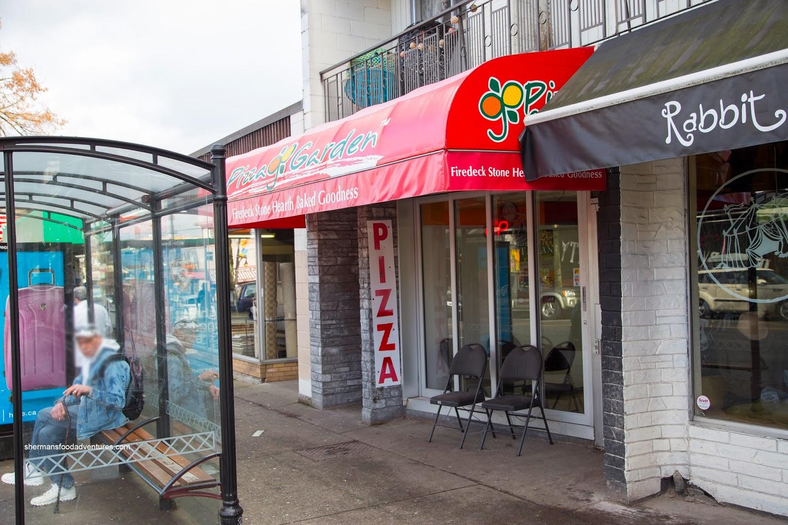 Sherman 39 s food adventures pizza garden commercial Garden city pizza