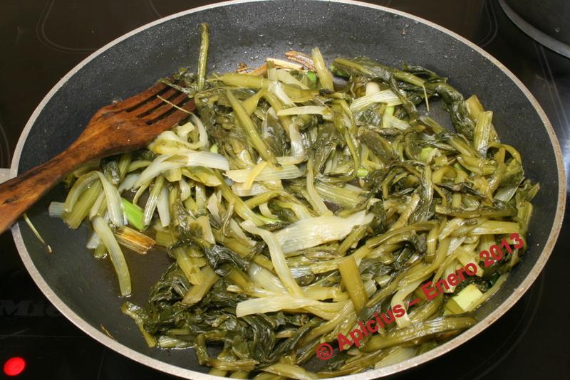 achicoria hervida acompa ada de sardina vieja la cocina