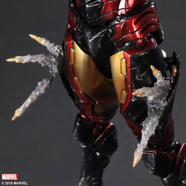 action figure iron man square enix
