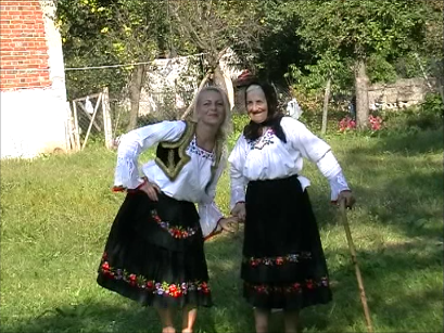 Traditional costume South Serbia Leskovac Kacabac village