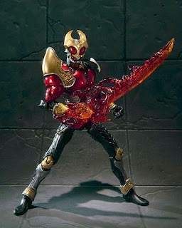 S.I.C. Kiwami Tamashii Kamen Rider Agito Storm Form & Flame Form with Effect Parts