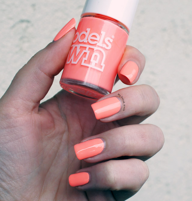 Models Own Peach Bag Polish for Tans swatch