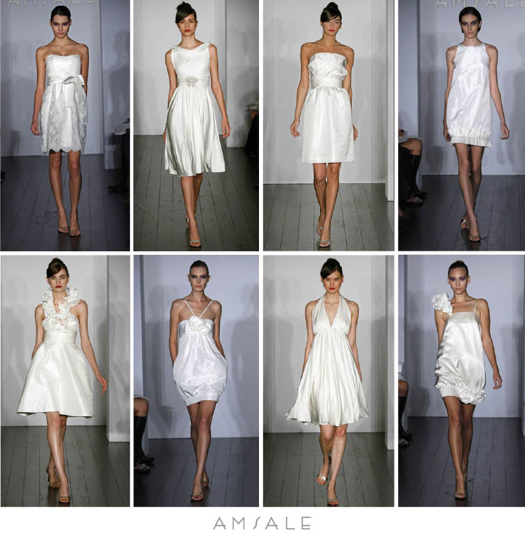 Too fabulous For any brides to be out there that think these dresses