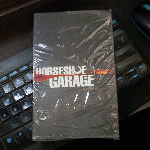 A Copy of Horseshoe Garage from BlogAdda: Day 79 of 100 Happy Days Challenge