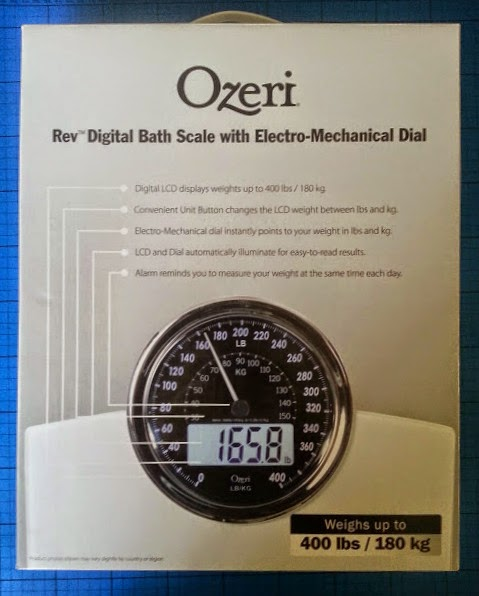 Ozeri Rev Digital Bathroom Scale with Electro-Mechanical Weight Dial review