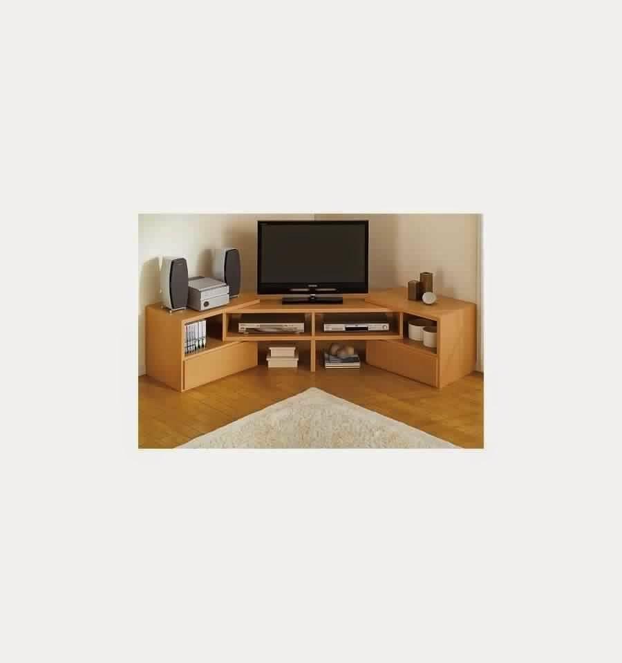 Meuble tv dangle salvador avec rangements ~ Solutions pour la décoration inté -> Meuble Tv DAngle Large Et Vitre