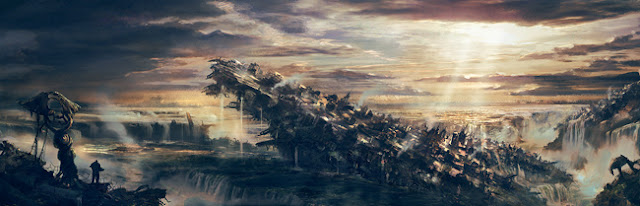 gears of war 3 concept artwork