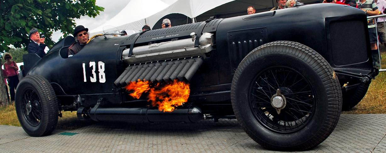 Bomber Race Car