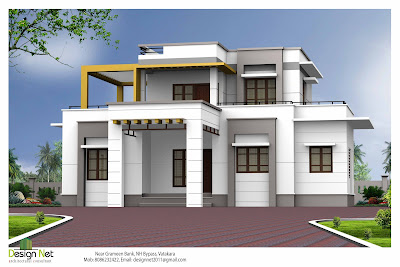 Simple creative concept 2000 modern house design for Simple house plans 2000 square feet