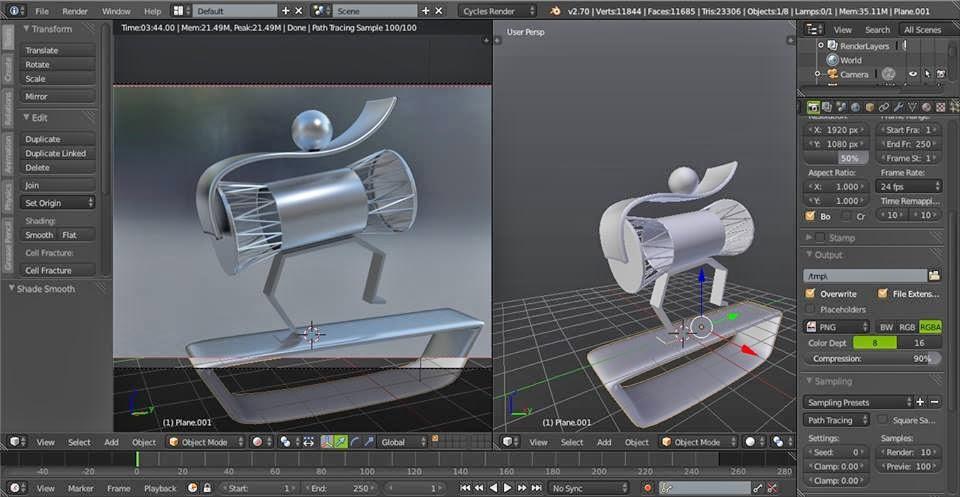 Kumpulan Tutorial Dasar Animasi 3D Blender - Yippie Studio