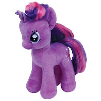 "Twilight Sparkle 8"" Ty Plush"