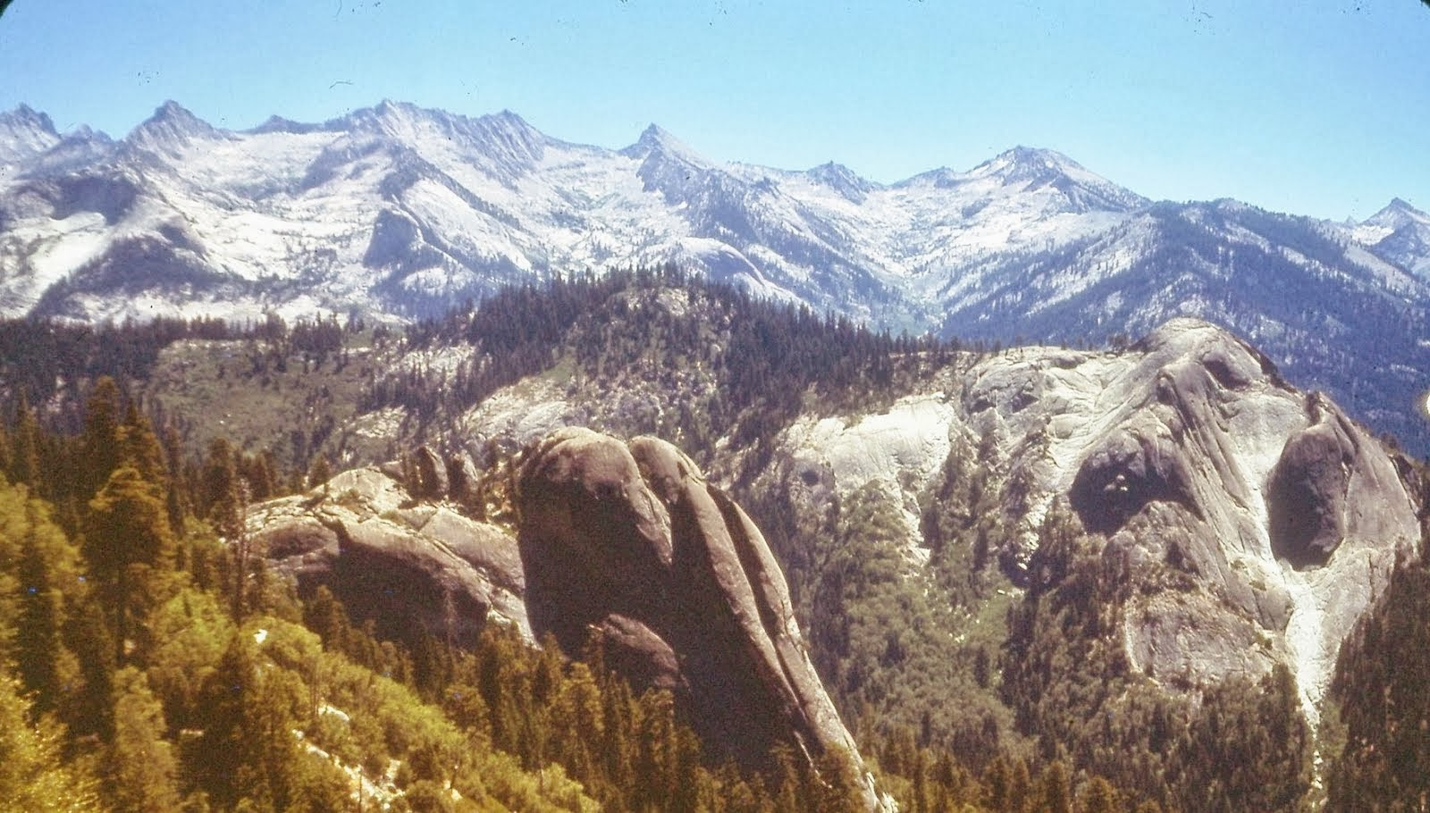 Domes from the Upper Kaweah Drainage