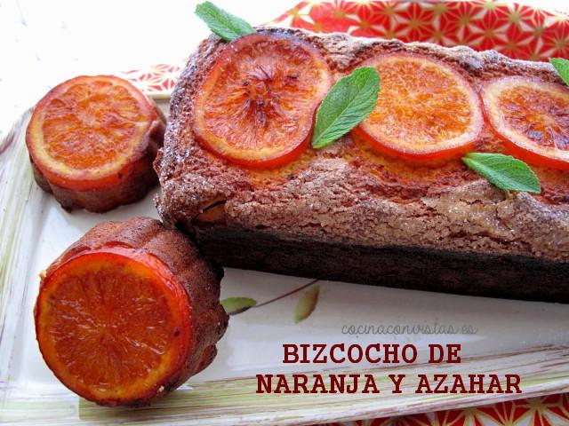 Cocina con vistas bizcocho de naranja y azahar for Cocina 5 ingredientes jamie