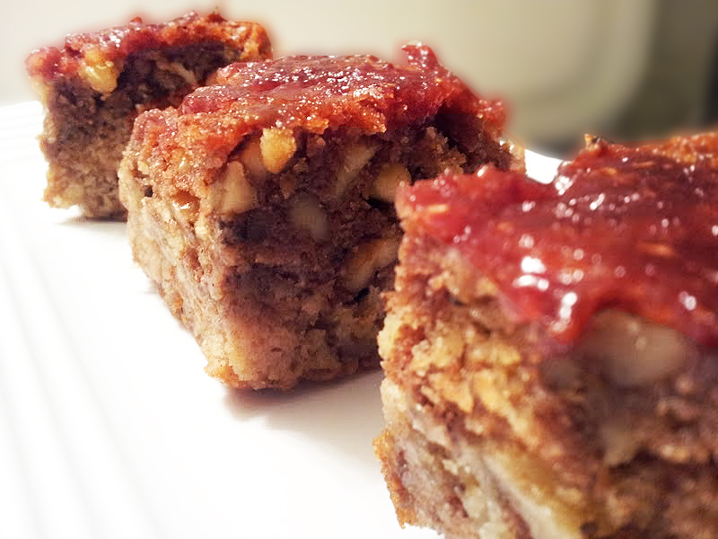 Cherry Coffee Cake With Cinnamon Topping