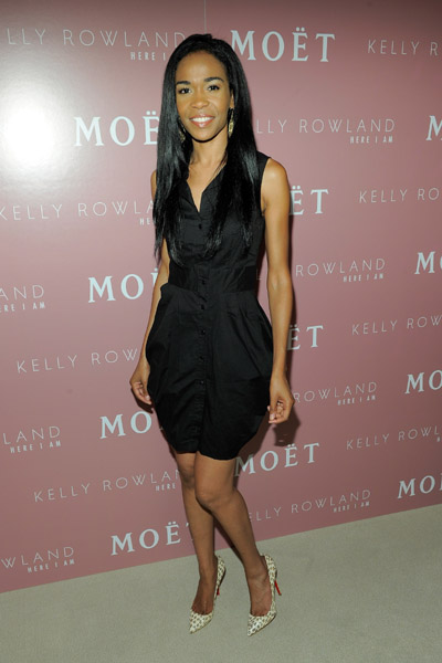 Little Black Dresses More At Kelly Rowland Album Release