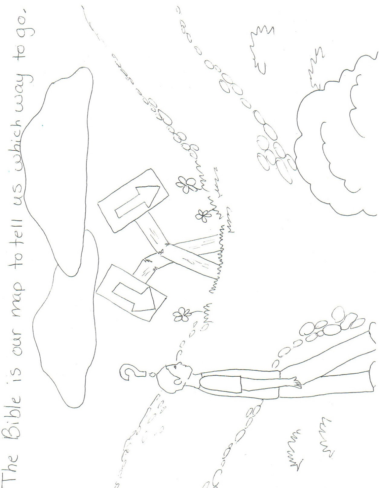 psalm 119 105 coloring pages - photo#9