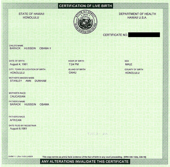 World Wide Life Blog Donald Trump Release His Birth Certificates
