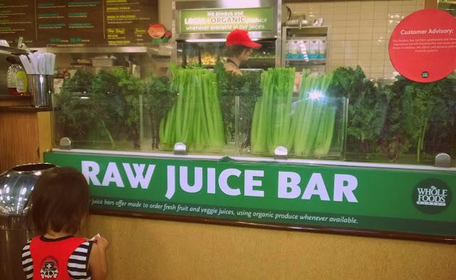 Raw juice bar