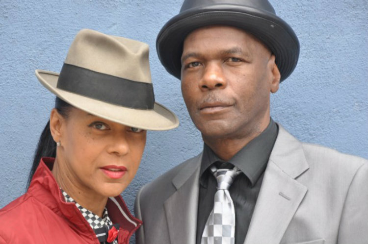 Pauline Black and Arthur 'Gaps' Hendrickson