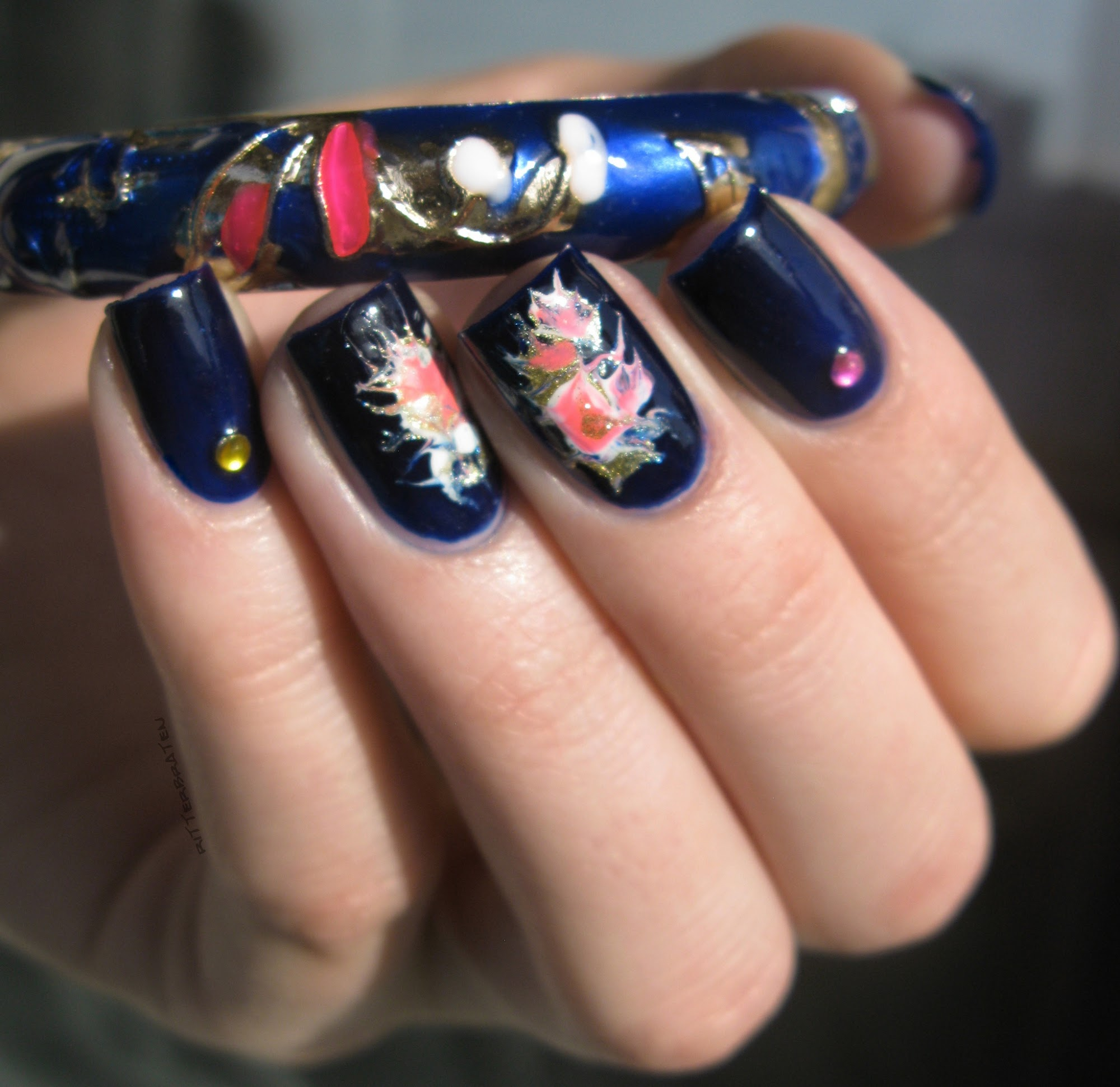 needle nail design
